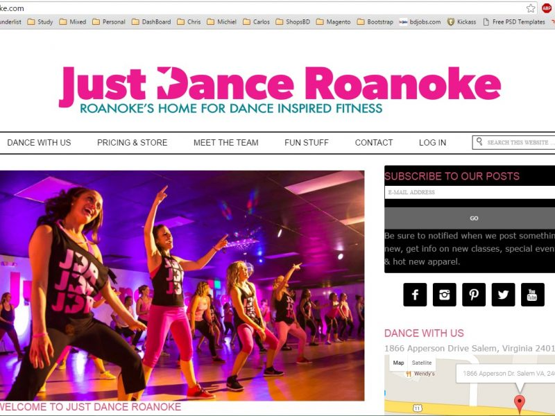 Just Dance Roanoke